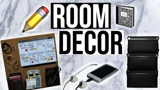 One of joeconza's most viewed videos: DIY TUMBLR ROOM DECOR and Organizationd! Keep your room organized!