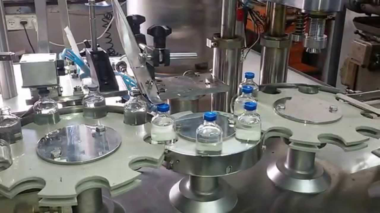 Fully Automatic Vial Filling Machine Youtube