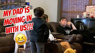 My EX Husband Is Moving In With Us Prank On Boyfriend!!!
