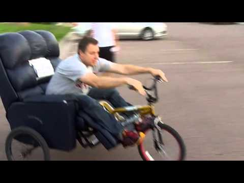 lazy boy bike 014  YouTube