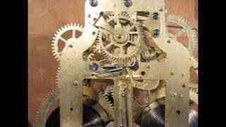 Seth Thomas Mantel Clock Movement with Rear Escapement