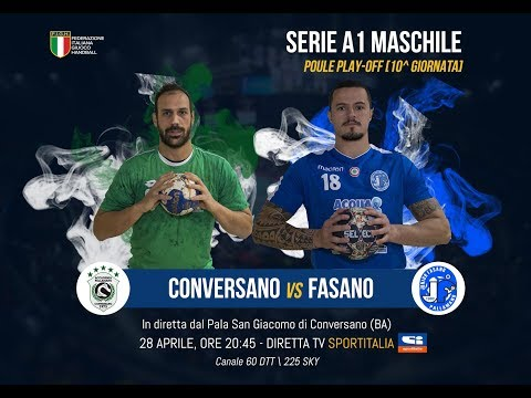 Serie A1M [Play-Off 10^]: CONVERSANO-FASANO 27-33