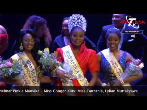 Crowning Miss Africa USA 2017  Featuring Featurist, Daphne, Calee
