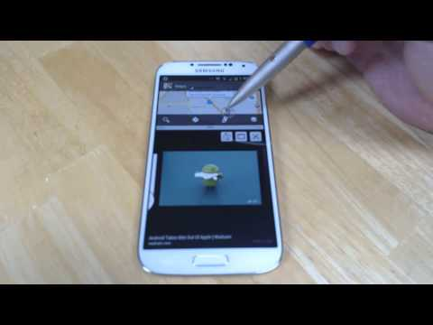 How To Use Multi-Window On The Samsung Galaxy S4
