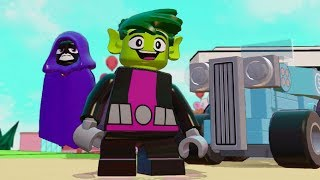 LEGO Dimensions - Beast Boy (Teen Titans Go!) Free Roam Gameplay