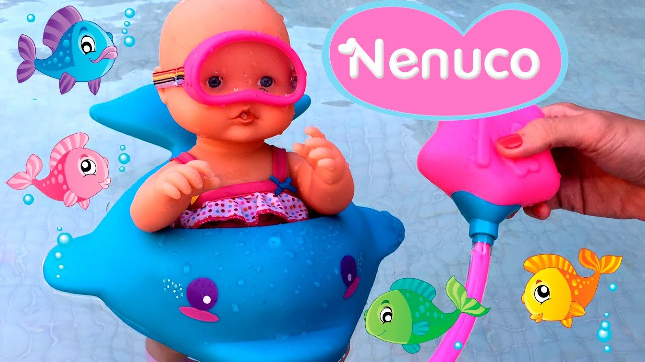 Nenuco Bubble Bath Doll - Toys Videos - YouTube