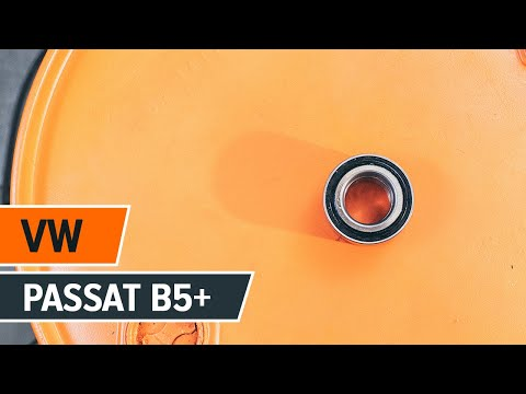 How to replace Front wheel bearing on VW PASSAT B5+ TUTORIAL | AUTODOC