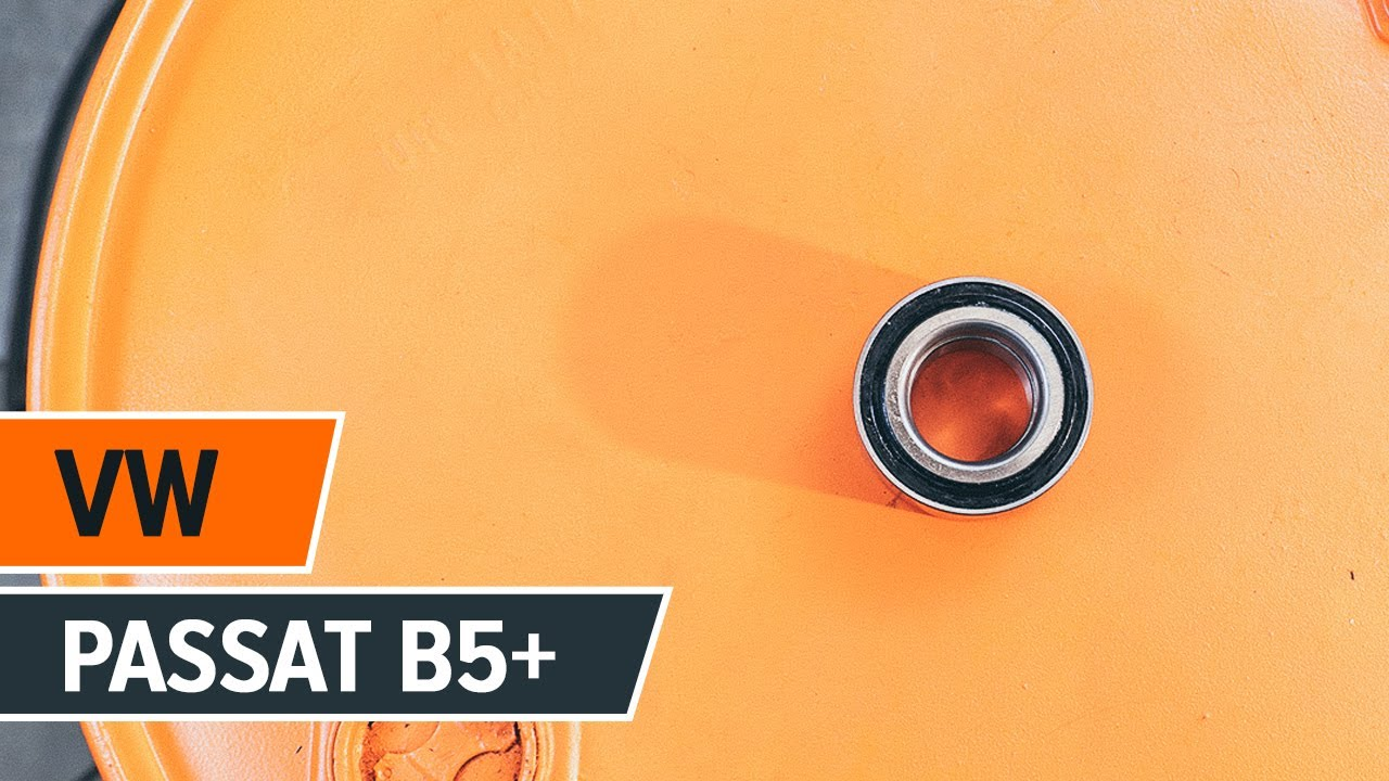 How To Change Front Wheel Bearing On Vw Passat B5 Tutorial Autodoc Youtube