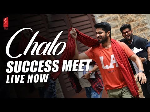 Chalo Movie | Grand Success Celebrations Event Live | Naga Shaurya | Rashmika | Ira Creations