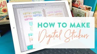 How to: Digital Stickers on the iPad