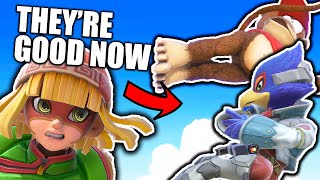 What the 8.0.0 PATCH CHANGED! Super Smash Bros. Ultimate Reaction