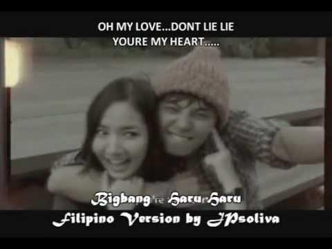 Bigbang - Haru Haru (JPsoliva Filipino Version Cover) w/ Download Link
