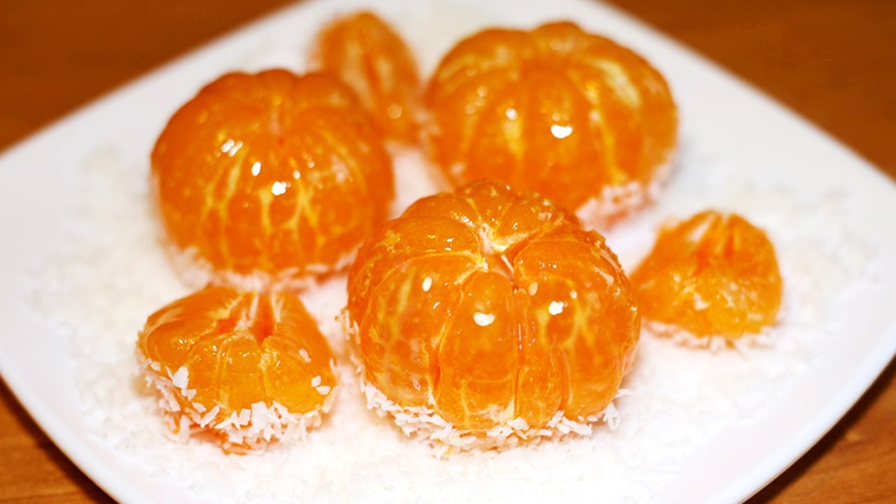 МАНДАРИНЫ В КАРАМЕЛИ. НОВОГОДНИЙ ДЕСЕРТ 2020 | Tanghuru Tanghulu Tangerines Candied Fruit Recipe