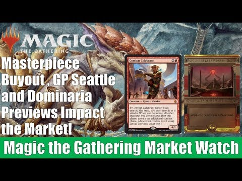 MTG Market Watch: Masterpiece Buyout, GP Seattle, and Dominaria Previews Impact the Market