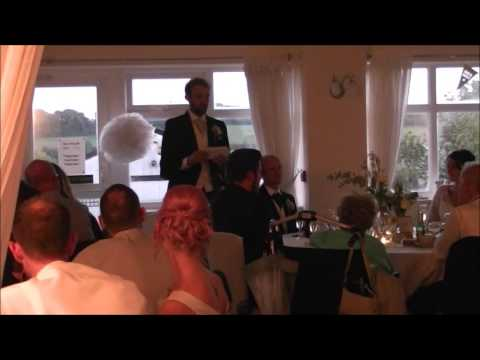 Daniel Banks' Grooms Speech