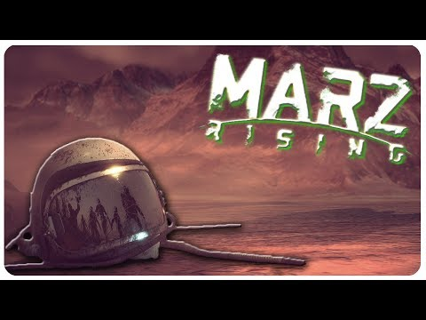 Last ZOMBIES On Mars? Space Colony SURVIVAL! | MarZ Rising Gameplay