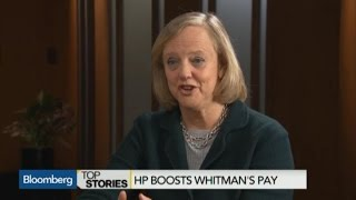 HP Boosts CEO Whitman's Pay 11% to Nearly $20M