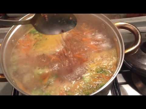 Суп с мясом как приготовить