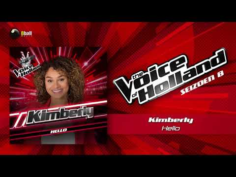Kimberly - Hello (The voice of Holland 2017 The Blind Auditions audio)