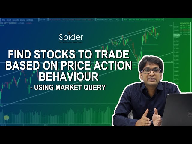 Find Stocks based on Price Action Behavior in LESS THAN 5 MINUTES| Market Query | Hindi Tutorial