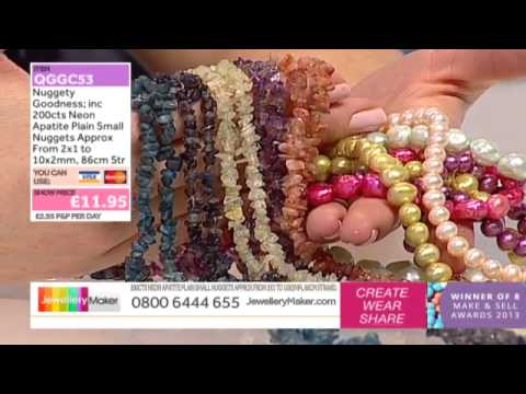 How To Make Boutique Style Jewellery - JewelleryMaker LIVE (am) 28/01/2015