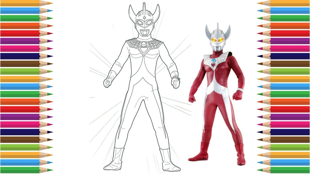Ultraman Taro Coloring Pages for