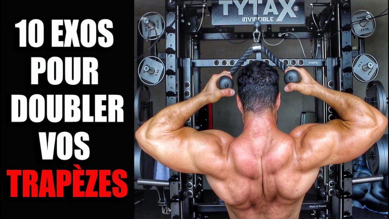 Les 10 Meilleurs Exercices Trapèzes (QUE VOUS NE FAÎTES JAMAIS !)
