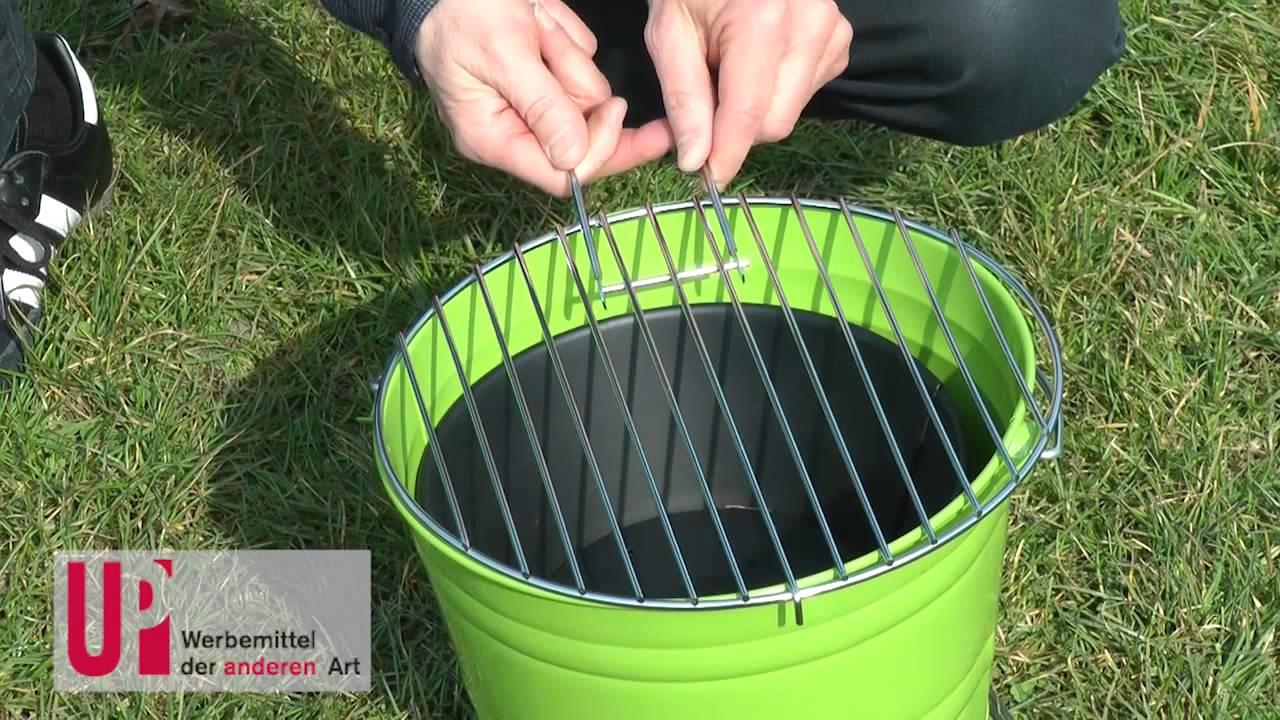 Mobiler Holzkohlegrill Test : Mobiler grill youtube