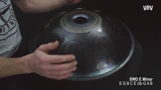 "Tongue Drum 18"" 9 notes - E Minor video"