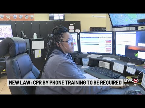New Indiana law requires phone CPR training for 911 dispatchers