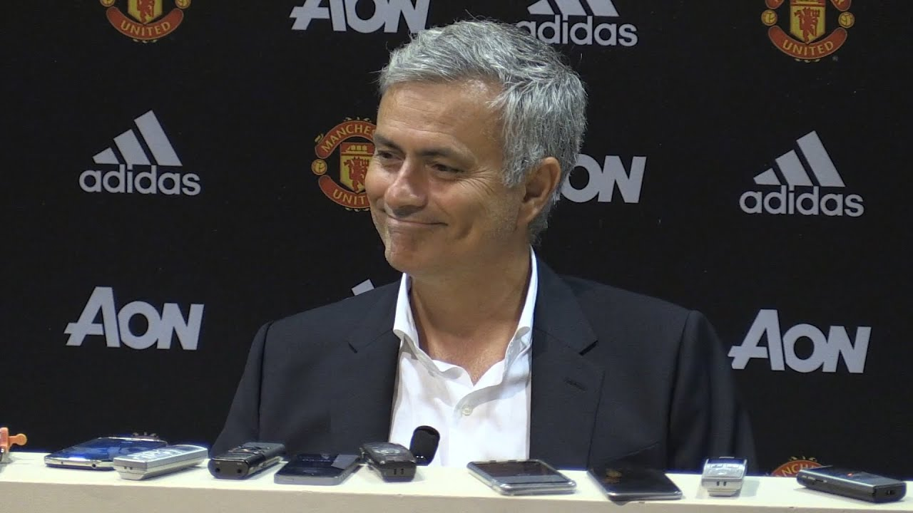 Image result for mourinho in press conference