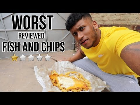 I ATE At The WORST REVIEWED FISH AND CHIPS SHOP In My City (London)