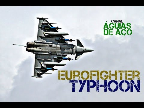 Eurofighter Typhoon - Um poderoso delta/canards europeu.
