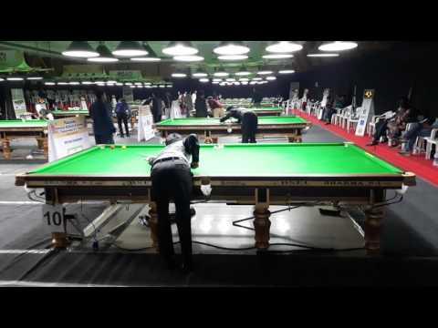 Pankaj advani playing billiards at nationals 2017