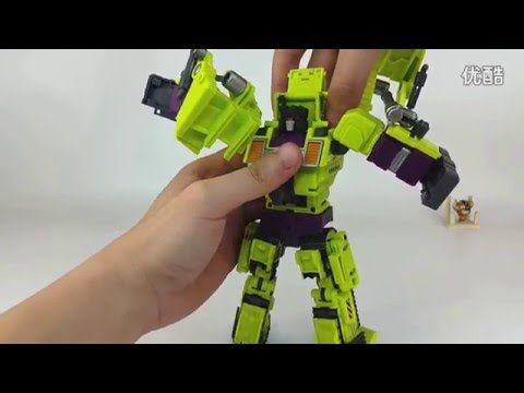 [Review] Bonecrusher Devastator Transformers Generation-Toy Generation Toy