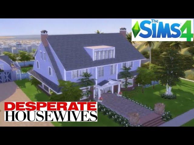 Desperate Housewives Bree Van De Kamp S House The Sims 4 Youtube