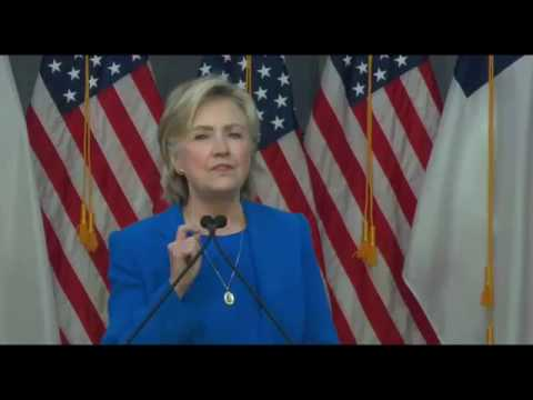 Hillary Clinton National Baptist Convention in Kansas City Missouri