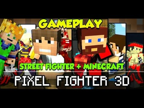 [GRATIS] - PIXEL FIGHTER 3D - JUEGOS DE PELEAS - ANDROID iOS