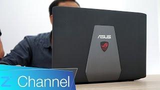 Trên tay ASUS GL552J - laptop giá rẻ dành cho game thủ
