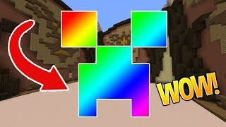 ONLY RAINBOWS CHALLENGE!! (Minecraft Build Battle)