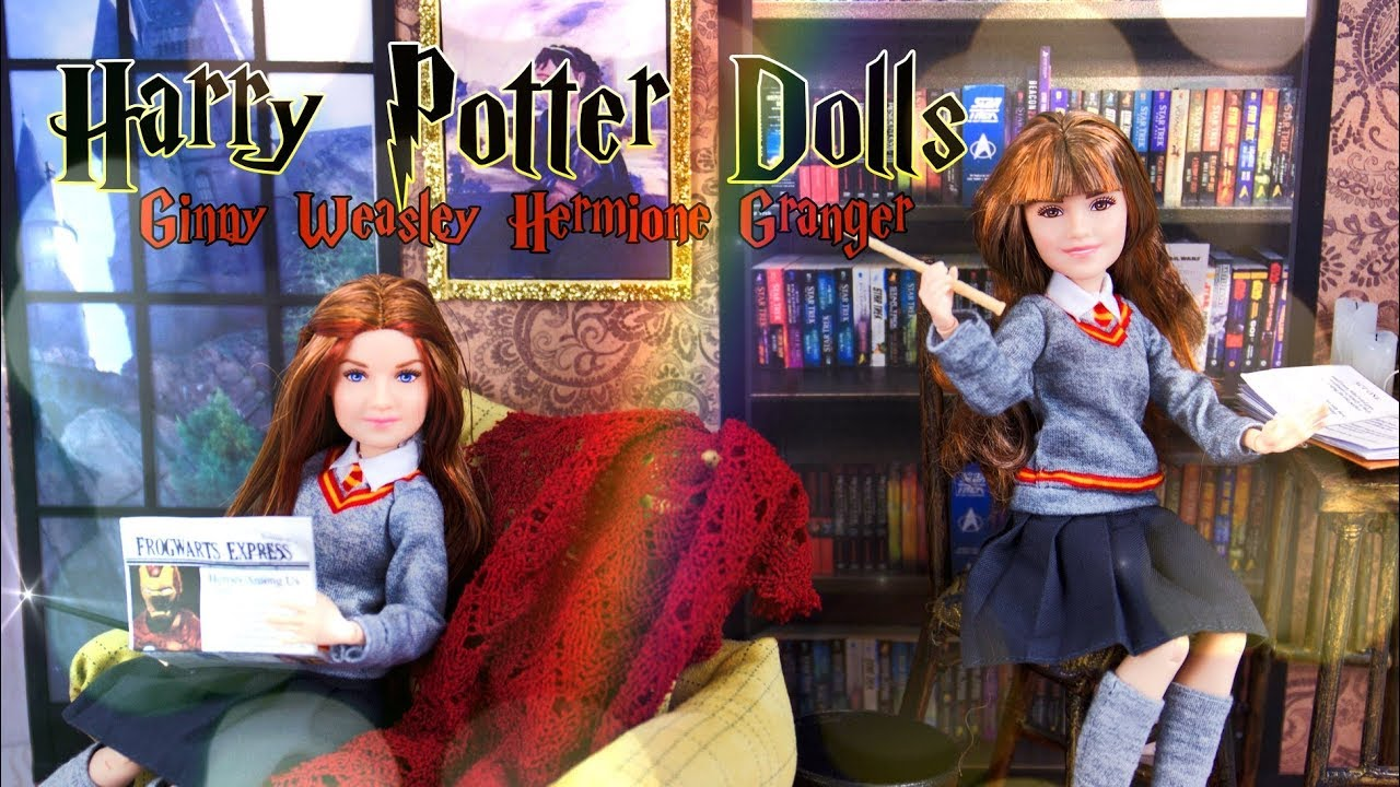 Unbox Daily: Harry Potter Dolls | Hermione Granger & Ginny Weasley PLUS DIY Room