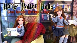 Unbox Daily: Harry Potter Dolls | Hermione Granger & Ginny Weasley PLUS DIY Room