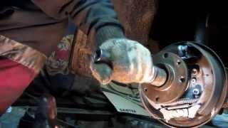 Замена подшипника ступицы на калине сравнение заводского с покупным Вологодский
