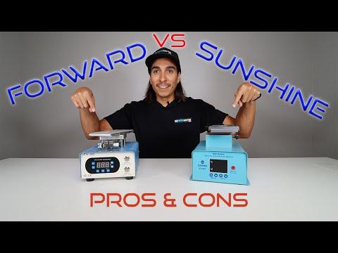 Forward VS. Sunshine - Best LCD Screen Separating Machine Heating Plate