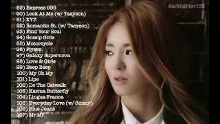 Hyoyeon's Singing Parts Compilation 2007-2014
