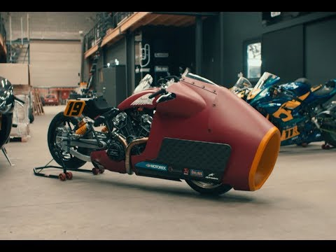 Randy Mamola to ride special Indian Scout Bobber sprint racer
