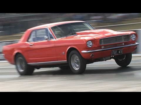 Turbo E85 Mustang drag - Tunnel Vision
