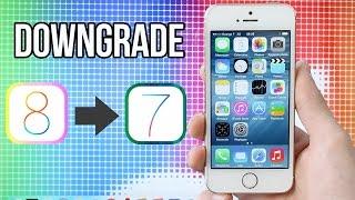 Como bajar de iOS 8 a 7.1.2 (Downgrade, Metodo Fácil)
