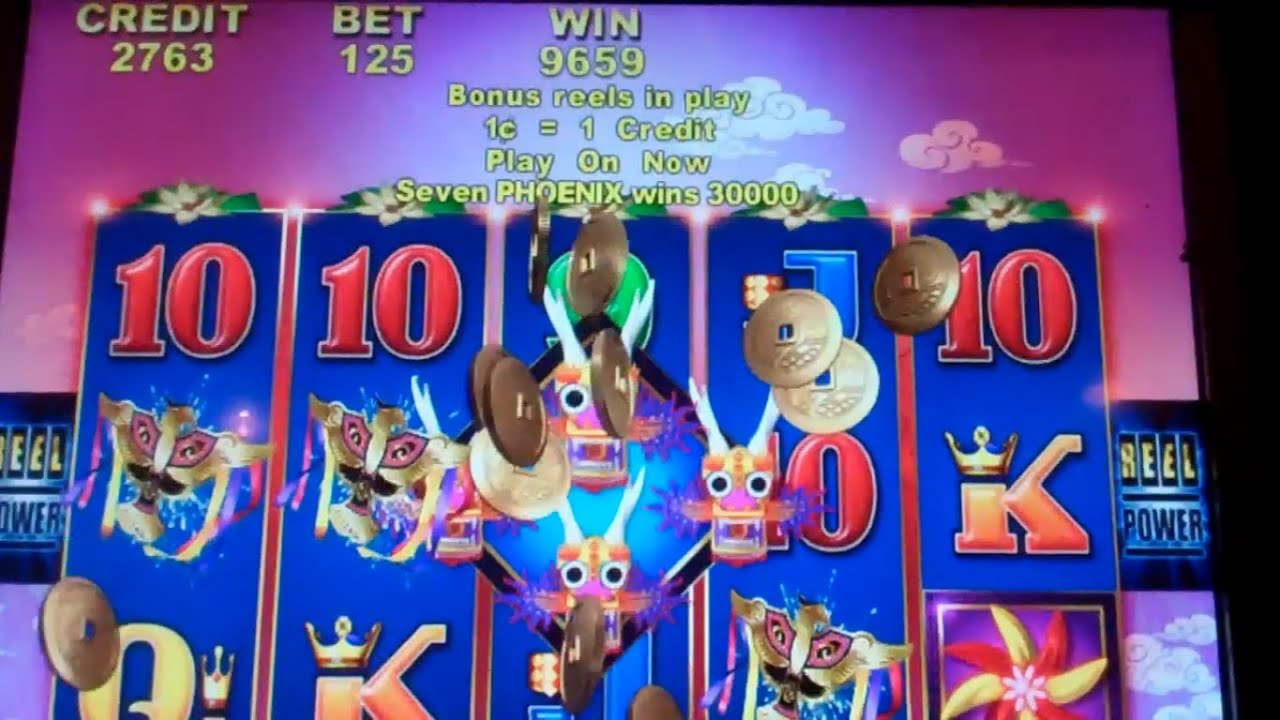 Sky dancer slot machine