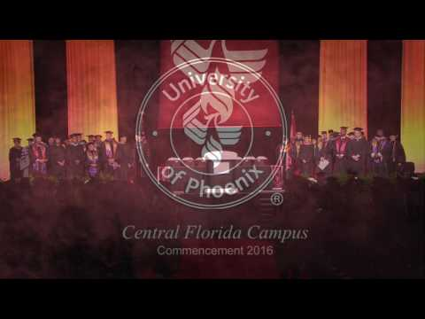 University of Phoenix Central Florida Campus 2016 Commenceme